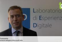 Carlo Purassanta AD Microsoft Italia
