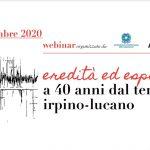 Eredità ed esperienze a 40 anni dal terremoto Irpino-Lucano